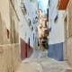 Enjoying a walk along the narrow picturesque streets of Ítrabo.