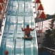 A giant slide at Hershey Park