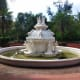 Intricate work in fountain