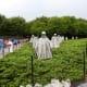 Korean War Memorial at the National Mall in Washington DC