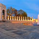 World War II Memorial at the National Mall in Washington DC