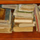 Czech Center Museum – Vintage books in the library