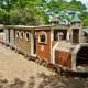 Wooden Train in Donovan Park