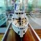 The Calypso ship model