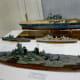 Past Battleship models at Houston Maritime Museum
