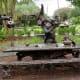 Wonderland Sculpture in Evelyn's Park