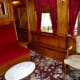 Parlor inside of the 'Quebec' Rail Car from Canada