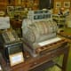 Old cash register & other artifacts