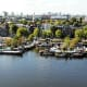 View from OBA, Amsterdam.