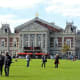Concertgebouw, at the end of Museumplein, Amsterdam.