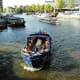 Open boat tour, Amsterdam.