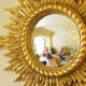 Very positive feng shui energy is generated with the placement of this mirror.