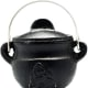 For $17.99, you are getting a high quality, cast-iron cauldron for a wonderful price. In smaller New Age shops, this would run you $20-30.