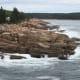 Rocky shore near Monument Cove