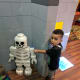 Blaze loved the minis and was surprised when he stumbled across this skeleton mini figure.