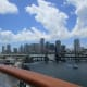 Skyline of Miami on our day of departure.