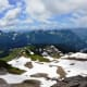 Skyline Trail @ Mount Rainier National Park - If you look close on the left side of the picture, there are a group of people in a climbing class.