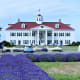 George Washington Inn behind the Washington Lavender Farm near Sequim, Washington