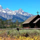 Chapel of the Transfiguration in Grand Teton National Park, Wyoming