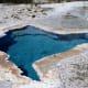 Hot spring near Old Faithful at Yellowstone National Park