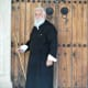 Priest at Apostolos Andreas Monastery.