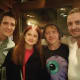 James Phelps, Bonnie Wright, Rupert Grint and Tom Felton met up in Los Angeles in 2015.
