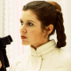 Leia in Empire Strikes Back