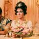 Richard Burton and Elizabeth Taylor in Cleopatra.