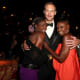 Alexander Skarsgård, Rutina Wesley and Adina Porter (Lettie Mae- Tara's mother on the show) reunited at the Emmy's a few years ago!