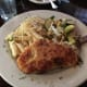 Parmesan Crusted Stuffed Chicken from the Huisache Grill