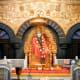 The idol of Sai Baba, Shirdi