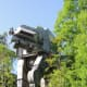 Imperial Walker at the Star Tours Ride in Disney's Hollywood Studios