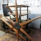 Old Star Wheel Press from 1835 used by Charles Criner when he prints his lithographs.