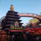 The virtual reality version of this roller coaster an experience! Chase a virtual dragon around a Chinese-inspired 3D world.