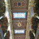 The ornate ceiling in Jerusalem Synagogue.
