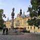Charles Square, Prague.