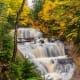 Sable Falls at Pictured Rocks National Lakeshore on Lake Superior