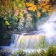 Upper Tahquamenon Falls on the Tahquamenon River is amazing.
