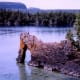 Sea Lion Arch at Sleeping Giant Provincial Park, Ontario, Canada