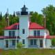 Raspberry Island Lighthouse @ Apostle Islands National Lakeshore, Wisconsin