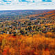 Fall colors from Enger Tower in Duluth, Minnesota