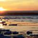Little Icebergs at Presque Isle Park in Marquette, Michigan