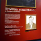 Edmund Fitzgerald display at the Great Lakes Shipwreck Museum in Whitefish Point, Michigan.