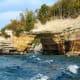 Pictured Rocks National Lakeshore on Lake Superior