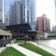 Chicago Riverwalk @ Wacker Drive and Franklin Street in Chicago, Illinois