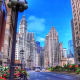 Magnificent Mile in Chicago, Illinois
