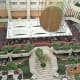 The atrium.