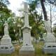 Impressive monuments in Glenwood Cemetery