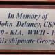President H.W. Bush honored his former shipmate