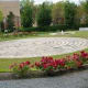 Memorial Garden with the labyrinth